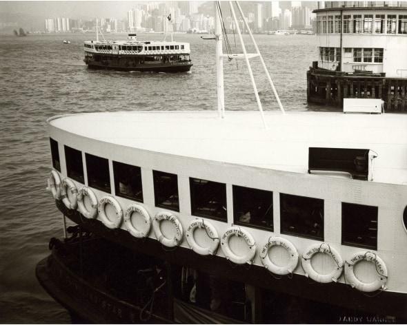 ANDY WARHOL Hong Kong Harbour (Boats), 1982