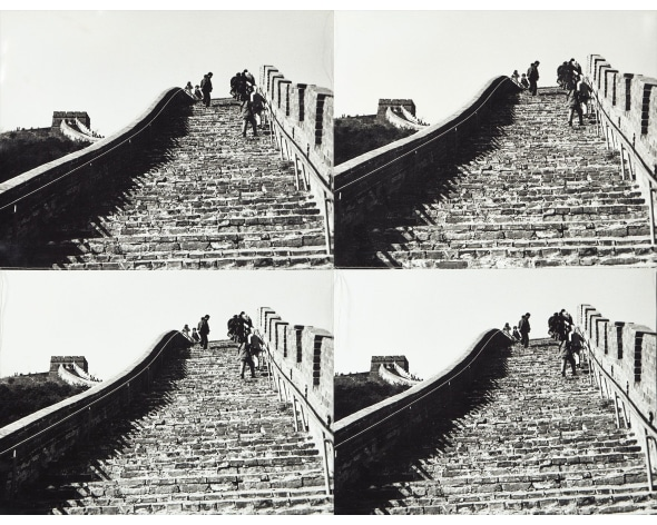 ANDY WARHOL The Great Wall of China, 1982-1987