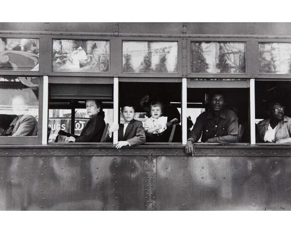ROBERT FRANK New Orleans, Trolley, 1955