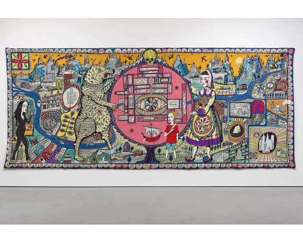 GRAYSON PERRY Map of Truth and Beliefs, 2011