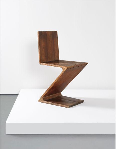 Early U0027Zig Zagu0027 Chair