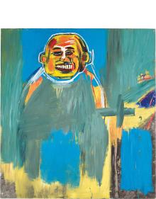 Jean-Michel Basquiat - Bird as Buddha