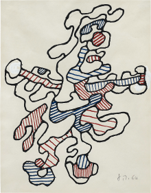 Jean Dubuffet - Personnage IV