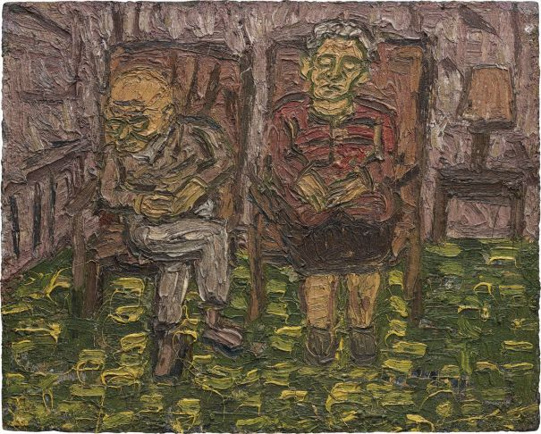 Two seated Figures no.1 (My Parents)