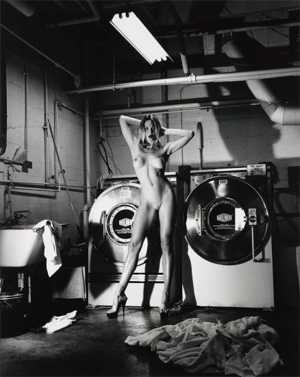 Domestic Nude III, In the Laundry Room of the Château Marmont, Hollywood