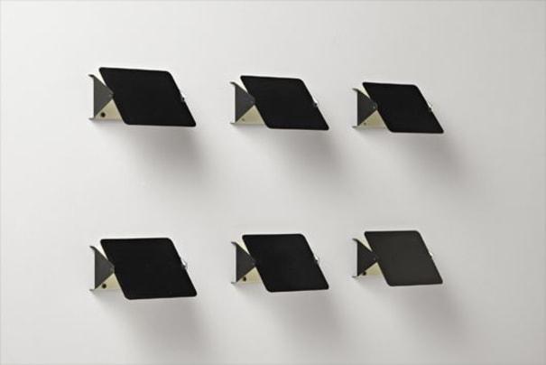 Set of six wall lights, model no. CP1