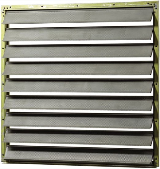 Louvered panel