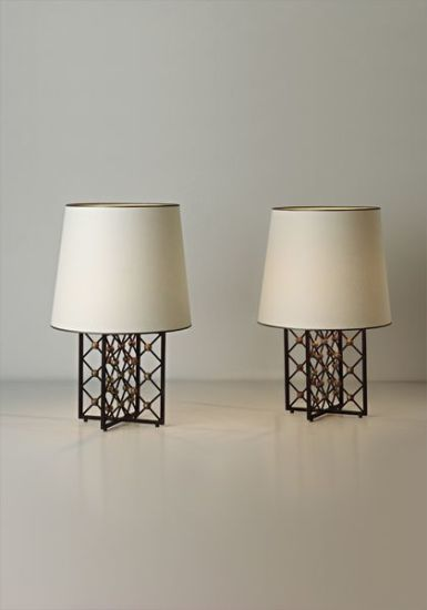 "Pair of ""Tour Eiffel"" table lamps"