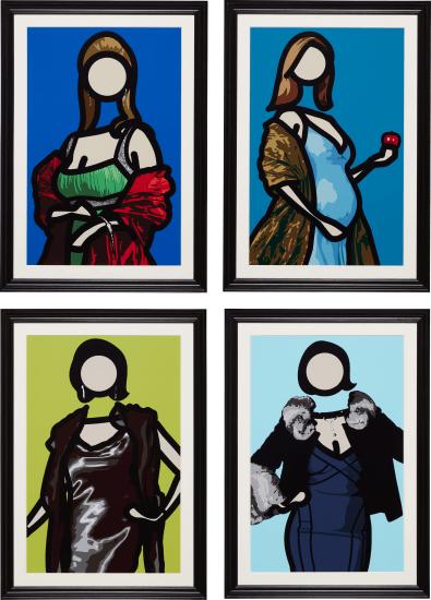 Maria. (1); Maria. (2); Felicia.; and Mirjam.