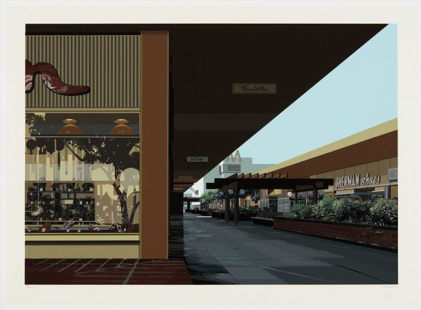 Lakewood Mall, from Urban Landscapes No. 3