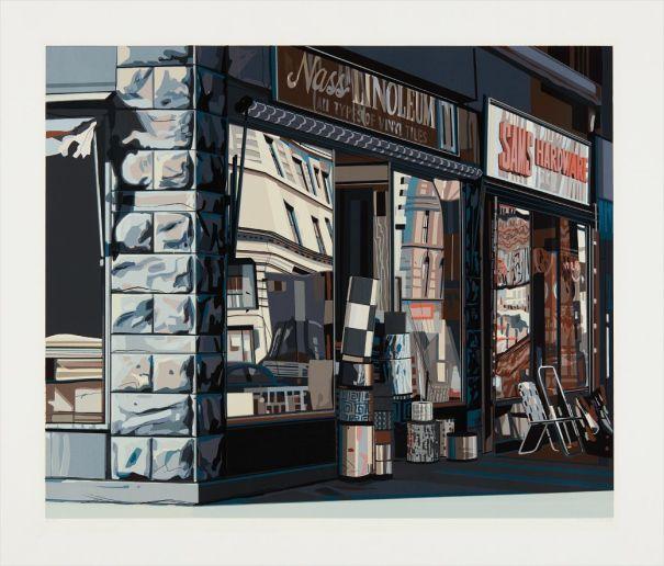Nass Linoleum, from Urban Landscapes