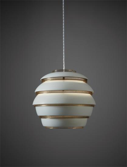 """""""Mehiläispesä (Beehive)"""" ceiling light, model no. A 331"""