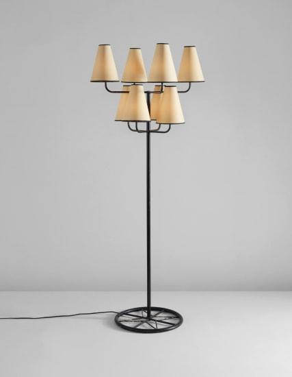 "Eight-arm ""Ski"" floor lamp"