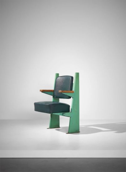 Lecture hall armchair, designed for the Faculté de Lettres, Université de Besançon