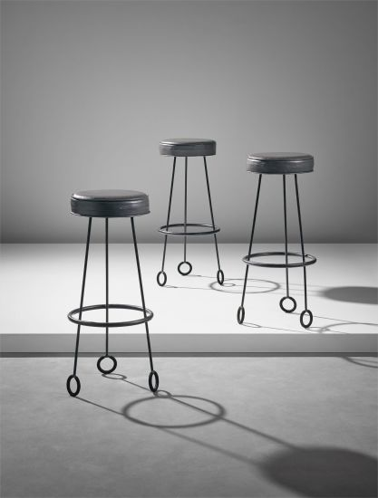 Set of three 'Yo-Yo' stools