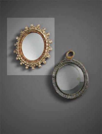 'Trèfle' mirror