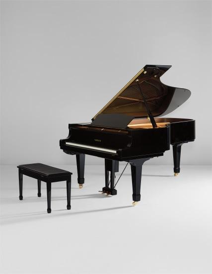 DC7 E3-Pro Disklavier Grand Piano and bench