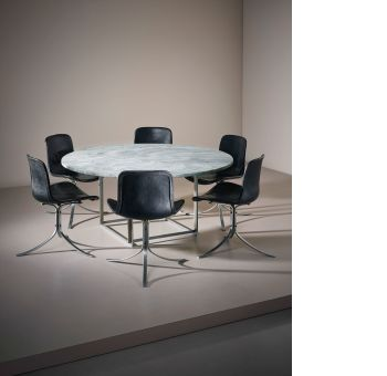 furniture poul kjaerholm pk54. Poul Kjærholm Dining Table, Model No. PK 54, And Set Of Six ChairsSold For £ 37,500. Nordic Masters Furniture Kjaerholm Pk54 S