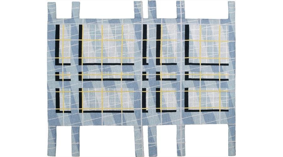PETER EISENMAN Unique rug, 2017