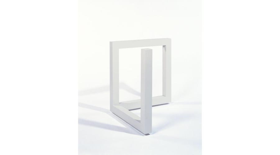 SOL LEWITT Incomplete Open cube 6/10, 1974, 1990
