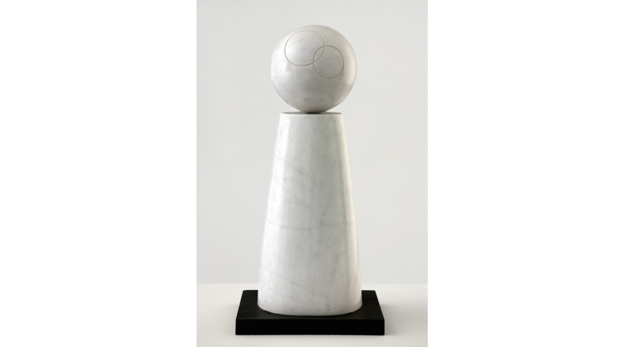 Barbara Hepworth Cone and Sphere, 1973. Marble. Hepworth Estate, on long loan to The Hepworth Wakefield (Wakefield Permanent Art Collection), © Bowness
