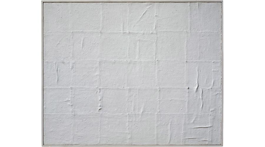 PIERO MANZONI Achrome, 1958-'59. Private Collection, London