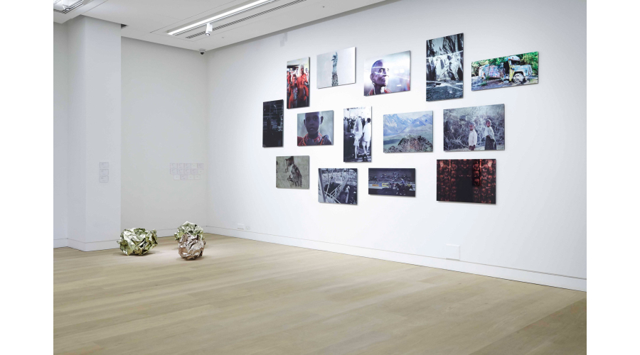 ANDREW LEVITAS Exhibition Installation, London, 2014