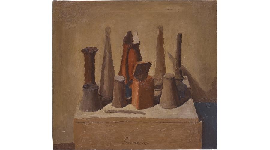 GIORGIO MORANDI Natura morta, 1930