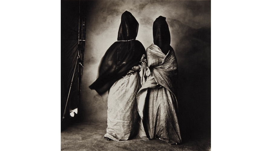 IRVING PENN Guedras in the Wind, 1971
