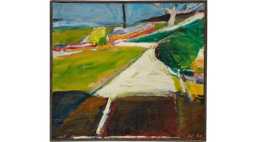 RICHARD DIEBENKORN Driveway, 1956