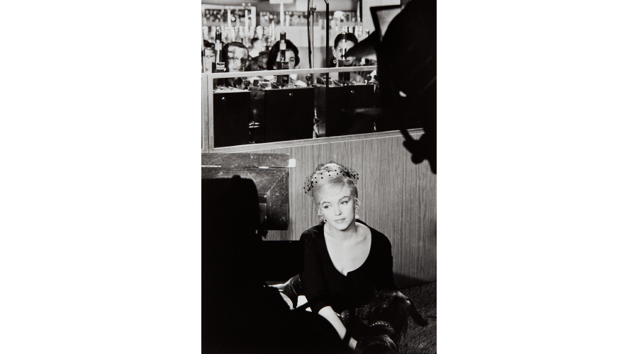 HENRI CARTIER-BRESSON Marilyn Monroe during the filming of 'The Misfits', Nevada, 1960
