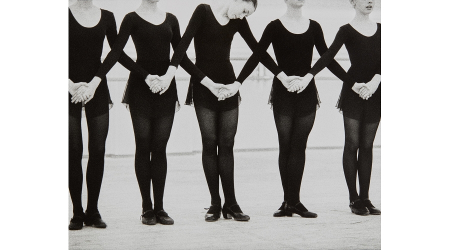 MARTINE FRANCKRehearsal, Ballet Moisseev, Moscow, Russia, 2000