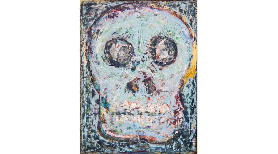 JEFF VELAZQUEZ My Candy Skull, 2014