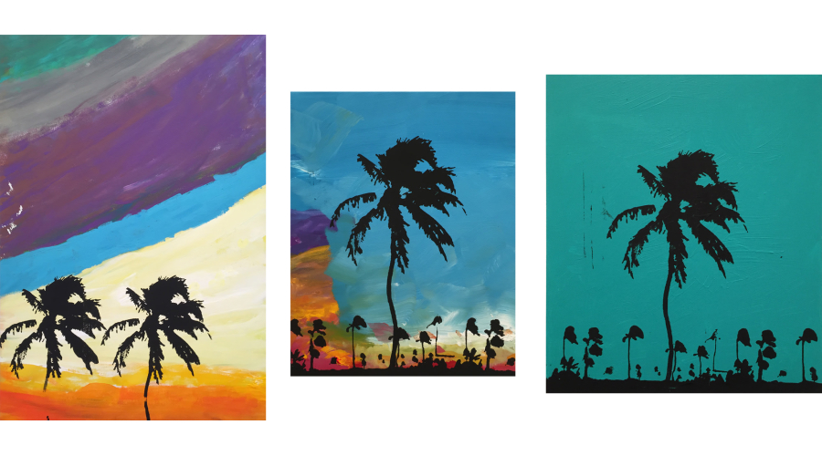 SEAN CLEARY Palm Tree, 2015