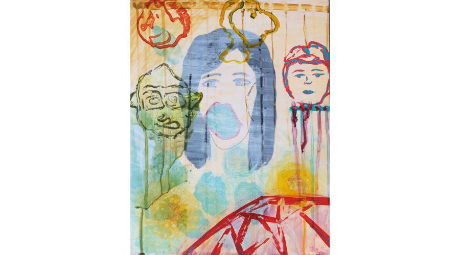<b>SELINA YUNQING LIN</b> <i>Self Portrait</i>, 2014