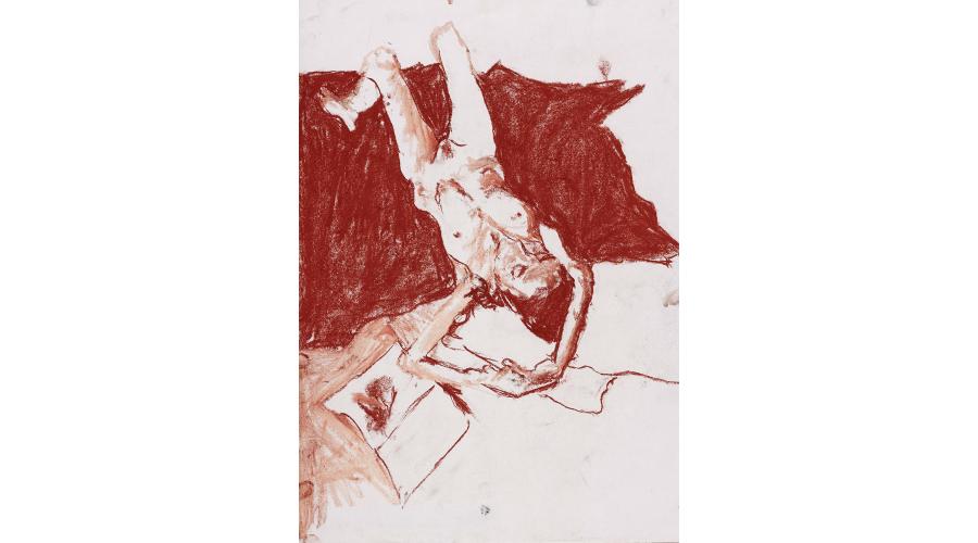 <b>JOE HEWLETT</b> <i>Nude in Red</i>, 2016