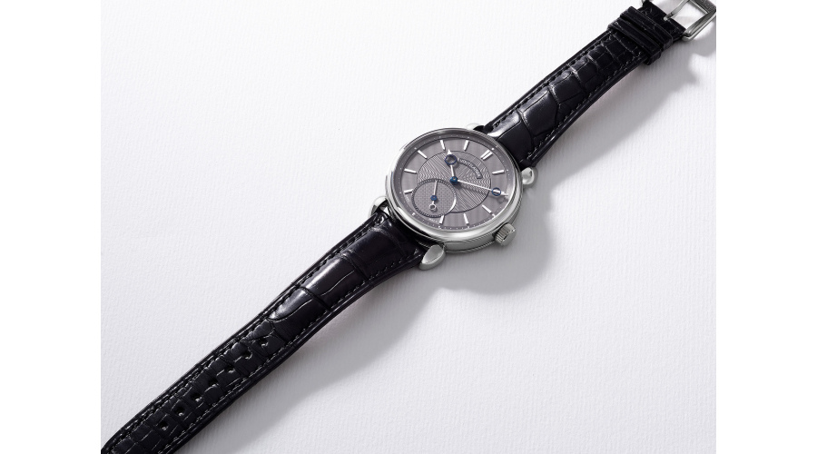 KARI VOUTILAINEN A fine and rare limited edition titanium wristwatch with certificate and box, numbered 10/10