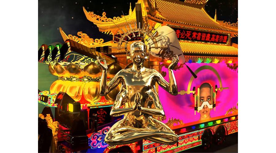 LU YANG LuYang Interactive Hearse, HD Video (still)