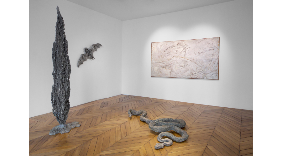 Works by Jean-Marie Appriou and Claude Bellegarde on view at 46 Rue du Bac