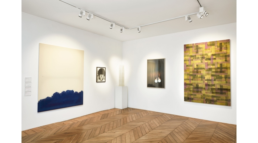 Works by Latifa Echakhch, Christer Strömholm, Carsten Höller, Georges Tony Stoll and Helmut Federle