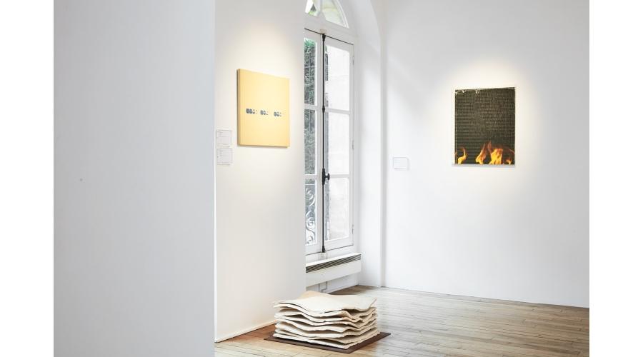 Works by Lee Ufan, Wade Guyton and Katinka Bock