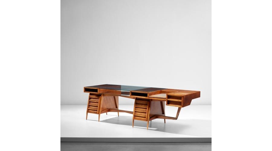 MARIO GOTTARDI Rare executive desk, circa 1945