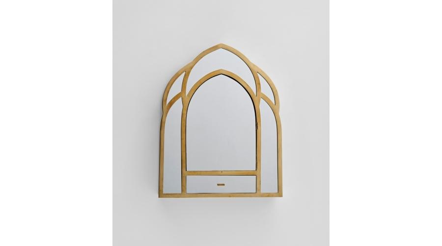 GABRIELLA CRESPI Gothic' mirror, circa 1977
