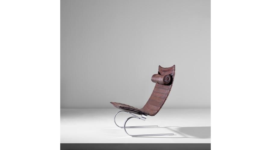 POUL KJÆRHOLM Lounge chair, model no. PK 20, designed 1967