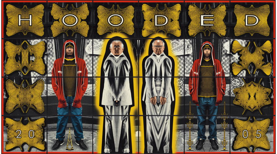 GILBERT & GEORGE Hooded, 2005