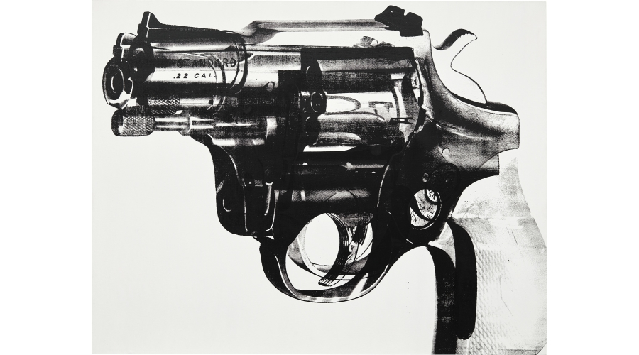 ANDY WARHOL Gun, 1981-1982