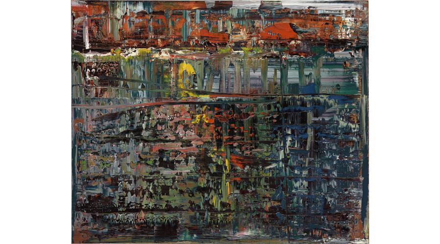 GERHARD RICHTER Abstraktes Bild (714-1), 1990