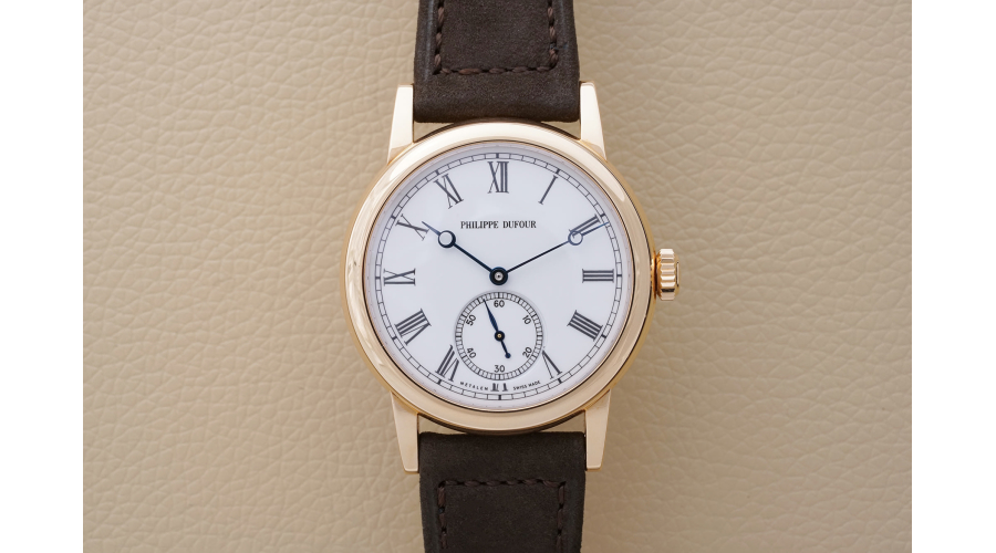 PHILIPPE DUFOUR Simplicity in Rose Gold