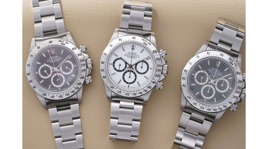 ROLEX Cosmograph Zenith Daytona Reference 16520 with 225 tachymeter scales