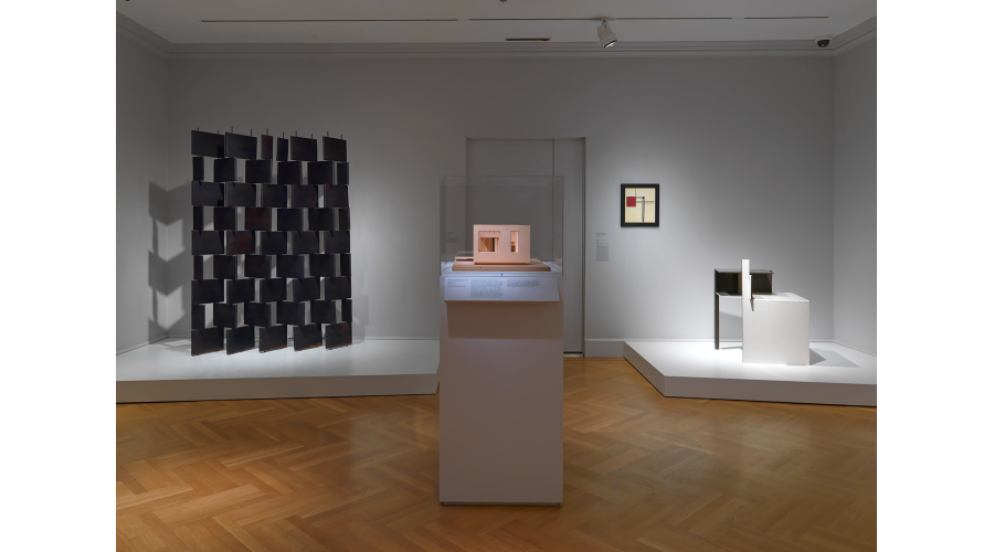 Installation view of Eileen Gray at the Bard Graduate Center. Photo courtesy of Bruce White.